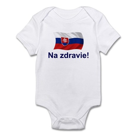 Slovak Na Zdravie! Infant Bodysuit