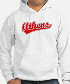 Retro Athens (Red) Hoodie