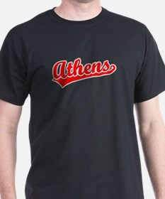 Retro Athens (Red) T-Shirt