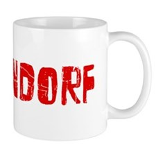 Bettendorf Faded (Red) Mug