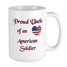 Proud Uncle/U.S. Soldier Mug