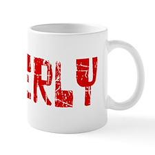Beverly Faded (Red) Mug