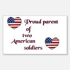 Proud Parent 2 Rectangle Decal