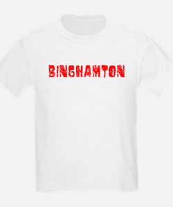 Binghamton Faded (Red) T-Shirt