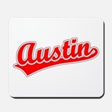 Retro Austin (Red) Mousepad