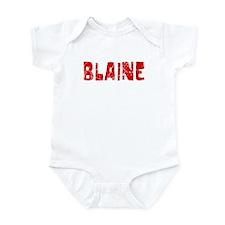 Blaine Faded (Red) Infant Bodysuit