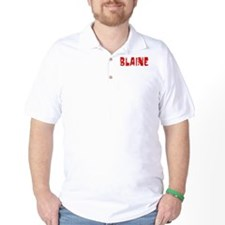 Blaine Faded (Red) T-Shirt