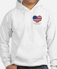 Heart of a Soldier 3 Hoodie