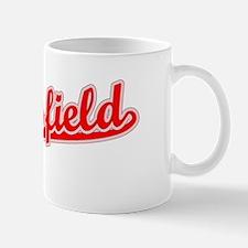 Retro Bakersfield (Red) Mug