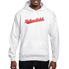 Retro Bakersfield (Red) Hoodie