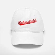 Retro Bakersfield (Red) Baseball Baseball Cap