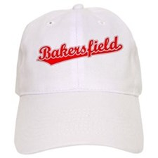 Retro Bakersfield (Red) Baseball Cap
