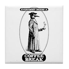 Coffee Break Tile Coaster