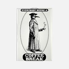 Coffee Break Rectangle Magnet