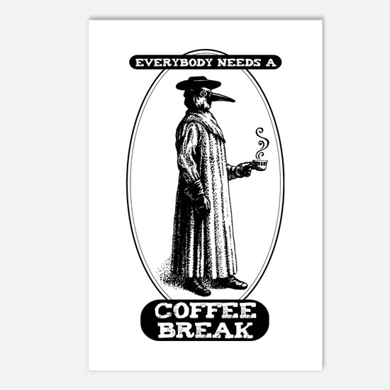 Coffee Break Postcards (Package of 8)