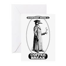Coffee Break Greeting Cards (Pk of 10)