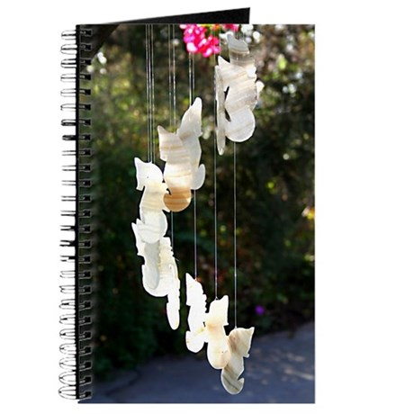 Seahorse Wind Chime Journal