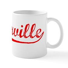 Vintage Naperville (Red) Mug