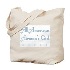 All-American blue Canvas Tote Bag (AF)