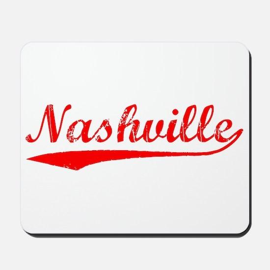 Vintage Nashville (Red) Mousepad