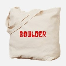 Boulder Faded (Red) Tote Bag