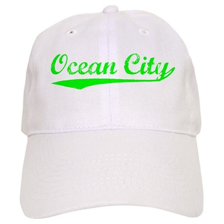 Vintage Ocean City (Green) Cap