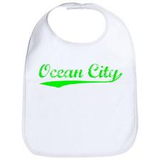 Vintage Ocean City (Green) Bib