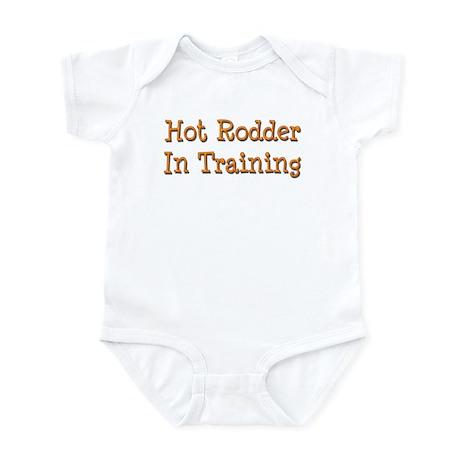 Hot Rodder In Training Infant Bodysuit