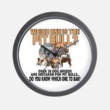 Find the Pit Bull Wall Clock