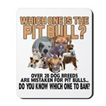 Find the Pit Bull Mousepad