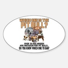 Find the Pit Bull Decal