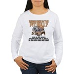 Find the Pit Bull Women's Long Sleeve T-Shirt