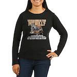 Find the Pit Bull Women's Long Sleeve Dark T-Shirt