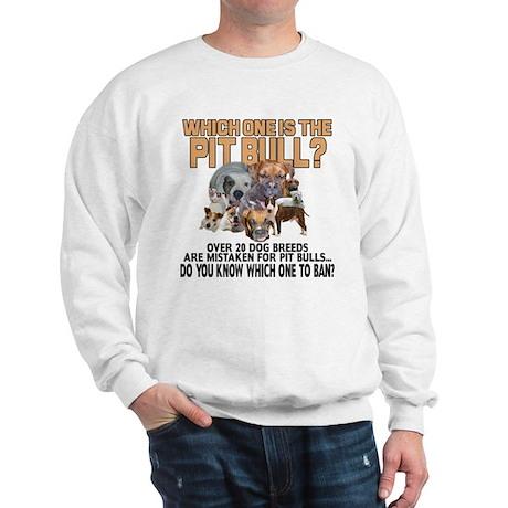 Find the Pit Bull Sweatshirt