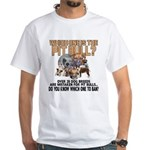 Find the Pit Bull White T-Shirt