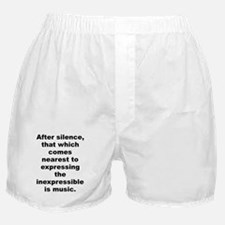 After silence Boxer Shorts