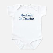 Blue Mechanic In Training Infant Bodysuit