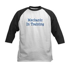 Blue Mechanic In Training Tee