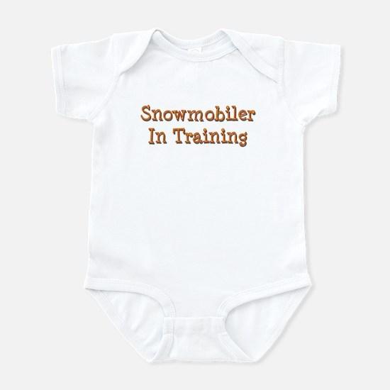 Snowmobiler In Training Infant Bodysuit