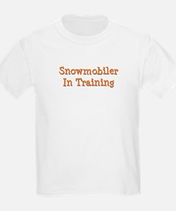 Snowmobiler In Training T-Shirt