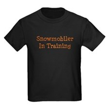 Snowmobiler In Training T