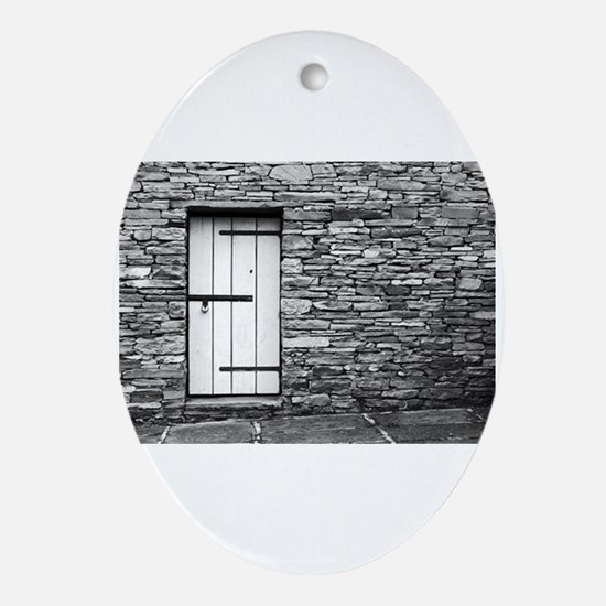 Irish doors Oval Ornament