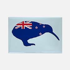 New Zealand Kiwi Rectangle Magnet