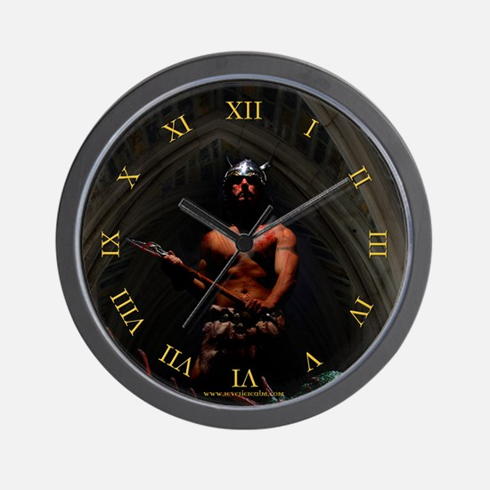 The Menace Fantasy Wall Clock
