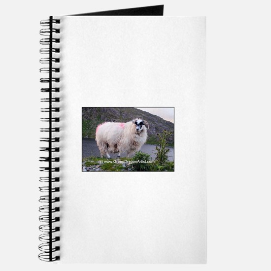Cute Farmer sheep Journal