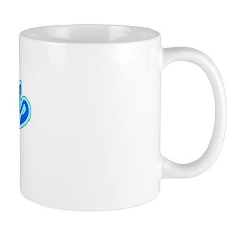 Retro Derby (Blue) Mug