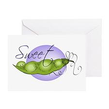 Sweet Baby Pea Greeting Card