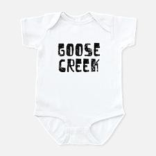 Goose Creek Faded (Black) Infant Bodysuit