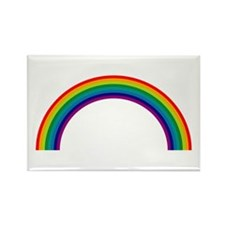 Rainbow Rectangle Magnet (10 pack)