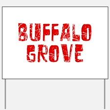 Buffalo Grove Faded (Red) Yard Sign